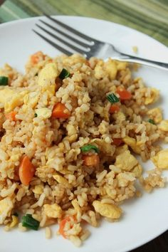 Chinese Fried Rice (Low-Fructose & Gluten-Free) More More