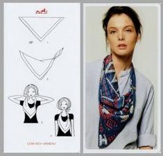 comment porter un foulard                                                                                                                                                                                 Plus