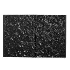 Black Lava iPad Air Cover