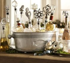 gorgeous bottle stoppers ~ great for a wine display