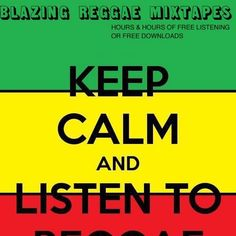 Keep Calm and Listen to Reggae Rasta Girl, Rasta Man, Jamaican Party, Rastafarian Culture, Jah Rastafari, Rastafari Quotes, Bob Marley Quotes, Peace And Love, My Love