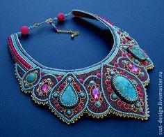 Beautiful jewelry with blue Sediment Jasper - Beautiful jewelry with blue Sediment Jasper Bijoux Design, Schmuck Design, Jewelry Design, Jewelry Art, Beaded Jewelry, Handmade Jewelry, Beaded Necklace, Necklaces, Gemstone Jewelry