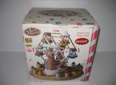 Lemax Sugar 'N Spice Yummy Yummy Musical Revolving Ferris Wheel 2004 NICE IN BOX