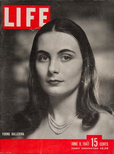 """Life Magazine cover, """"Young Ballerina, Ricky Soma"""", June 9, 1947"""