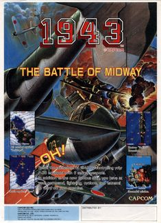 1943: The Battle of Midway/Midway Kaisen, Arcade, Capcom, 1987.