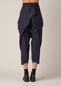 yamamoto origami trousers
