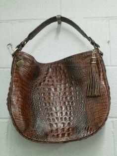 shopgoodwill.com: Brahmin Leather Purse