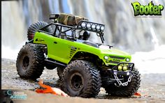 Out at Cochran Mills Nature Center in Georgia with the #axial #deadbolt riding the rocks by the waterfall.  #pooter #crawler #rcpatrol