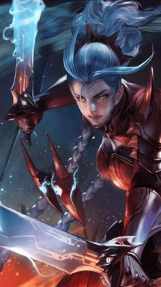 Aov Airi Bloodraid Wallpaper Character Wallpaper Girls Characters Fantasy Characters Dark Anime