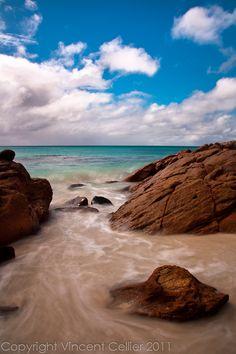 Beach by Dunsborough, Western Australia