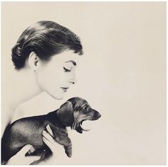 Lillian Bassman 1954 by Sr. Q, via Flickr