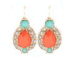 Fiery Margaret Earrings on Emma Stine Limited