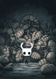 Hollow Knight Concept Art #1 by teamcherry.deviantart.com on @DeviantArt