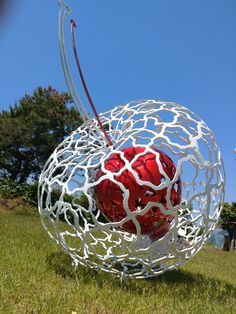 #sculpture#jeon yong hwan#space-from the one#apple