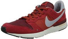 quality design 62047 4c56f Amazon.com Nike Archive 83.M - Game Red  Cinnabar-Team Red-Wolf Grey, 11  D US Shoes