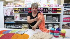 Vitória Quintal no Armarinho São José - Dicas com os fios Camila
