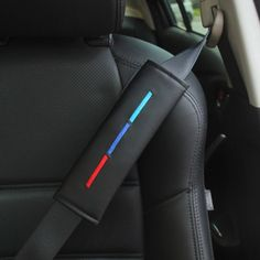 Race Sport Blue Car Seat Belt Cover Shoulder Pad Harness Travel Comfort Comfy