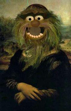 Mona show -- Mona Lisa Parodies #Joconde