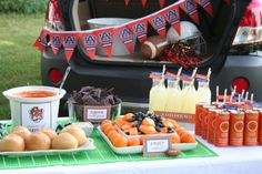 The Party Wagon - Blog - A TOUCHDOWN OF A TAILGATE