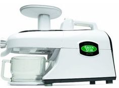 Green Star Elite Gse-5000 Juicer.Check out  green star EliteGse-5000 review.One of the best juicer in the market.