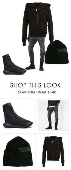 """""""Influencing a Contemporary Style"""" by styledbyboogz on Polyvore featuring Y-3, G-Star Raw, DRKSHDW, contemporary, men's fashion and menswear"""