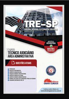 Materiais para Concursos Público: APOSTILA TRE-SP  - GRAN CURSOS 2016