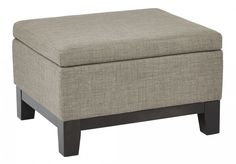 The Office Star Regent Storage Ottoman in Easy Brownstone comfortable seating and functional storage to any living space. This ottoman offers a quality. Ottoman Footstool, Fabric Ottoman, Ottomans, Lawn Furniture, Home Office Furniture, Office Star, All Modern, Contemporary Style, Storage