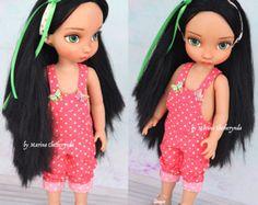 Kostenloser Versand Esmeralda. OOAK Puppe. Disney Animator