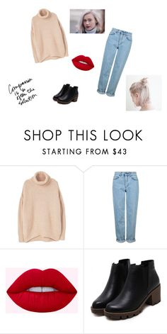 """noora sætre"" by amiqueeeen on Polyvore featuring мода, MANGO и Topshop"
