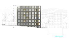 40 Housing Units / LAN Architecture,Courtesy of LAN Architecture