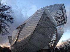 Fondation Louis Vuitton Gehry Paris