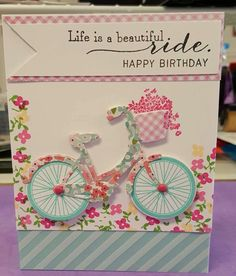 PTI Birthday card by Donna Gunia