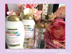 giveaway: win fox hair products and hair ties