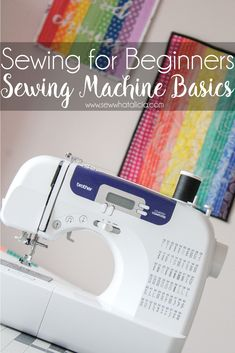 How to Sew for Beginners - Learn to Sew: This is for anyone who wants to learn to sew but knows nothing about their sewing machine. This is the perfect place for brand new beginners to start! Click through for all the information you need. | www.sewwhatalicia.com