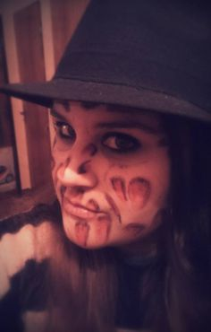 Freddy Krueger makeup