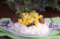 Key West Grilled Chicken with Mango Salsa -