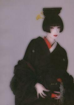 g-a-r-l-a-n-d-s-j-p-n — le kimono_winter 1984 Japanese Geisha, Japanese Models, Japanese Beauty, Yamaguchi, Madame Butterfly, Vintage Soul, Memoirs Of A Geisha, Japan Fashion, Japanese Culture