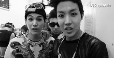 BTS | JHOPE SUGA and RAP MONSTER