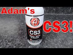 Adams CS3! Clean Shine Protect! Top Coat Waterless Wash And Spray Coating! All In One!! - YouTube