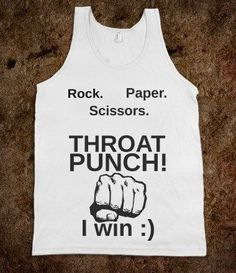 Our daughter needs this shirt. She's always trying to play and ever time she wins!