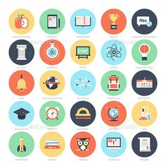 Education and Knowledge - Miscellaneous Icons