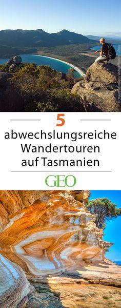 Tasmanien: Fünf Wandertouren für jeden Geschmack. So vielfältig wie die Vegetation und die Landschaft Tasmaniens sind auch die Wanderwege und Nationalparks der australischen Insel. Die Pfade führen entlang weißer Strände, der Klippen am Ende der Welt oder durch den tiefsten Urwald. Wir stellen fünf abwechslungsreiche Routen vor.