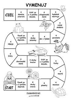 Spoločenská hra pre malé deti