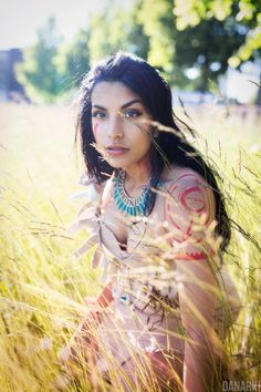 Pocahontas Cosplay by danarkiphoto.deviantart.com on @DeviantArt - Uploaded by the photographer
