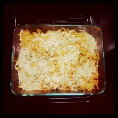 """gluten and dairy free baked mac n' """"cheese"""". super delish!"""