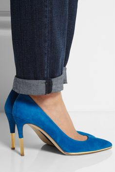 J.Crew - Everly suede pumps