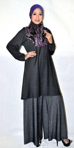 El Zahraa  Hijab+Palazzo pants