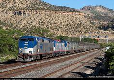 RailPictures.Net Photo: AMTK 133 Amtrak GE P42DC at Helper, Utah by James Belmont