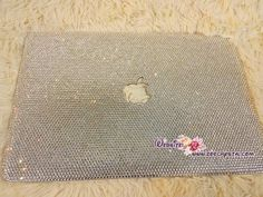 A fully bling and bedazzled hard case for your MacBook to be covered with rhinestones crystals or Swarovski  ♥♥♥IMPORTANT(MUST READ)♥♥♥ Please tell me the MODEL NUMBER of your Macbook when ordering. Items will only be shipped once the model number is confirmed. You may get the model number from the bottom side of your Macbook