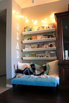 Reading area for kids...